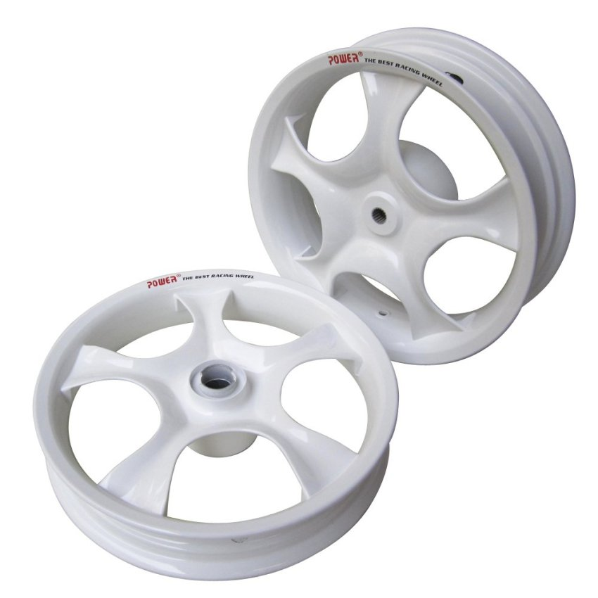 Power Velg Mio Rose - White