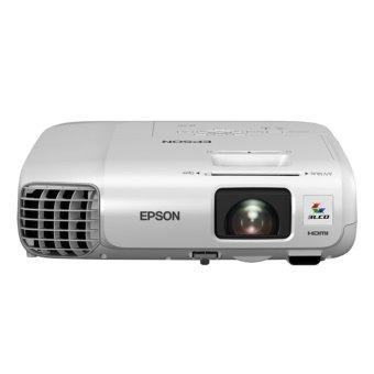 Epson EB-945H Projector - 3000 ANSI - XGA (1024x768) - 10.000:1 - 1.6x Zoom Lens - Putih