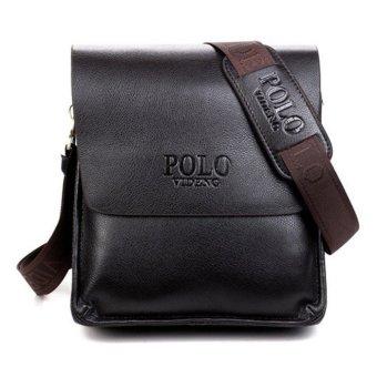Fashion Men Bags Men Messenger Crossbody Bag - Vertical Style - Brown - Big Size - Intl
