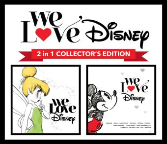 Universal Music Indonesia Various Artist - We Love Disney 2 in 1 Collector's Edition