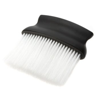 1Pcs Pro Wood Neck Duster Clean Brush Barbers Hair Cutting Hairdressing Stylist Salon (Intl)