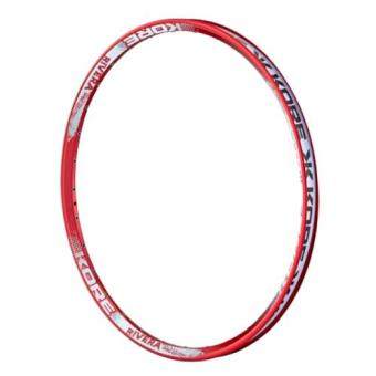 harga Kore Rim 26 Rivera Disc Only For Dirt Jump 32 Hole - Merah(Red) Lazada.co.id