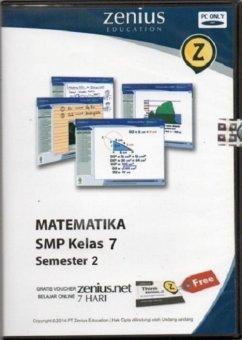 Zenius Set CD SMP Matematika kelas 7 semester 2