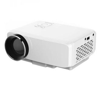 niceEshop GP9S Mini Portable 800 Lumens Digital LED Projector(White, UK Plug) (Intl)