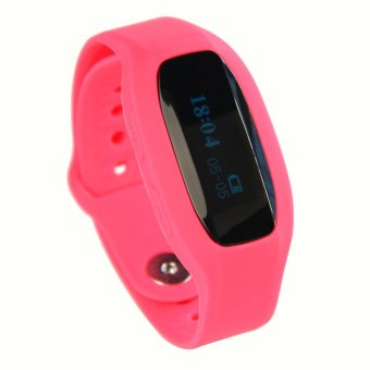 V5 Smart Bracelet Bluetooth Wrist Watch SmartWatch for iOS and Android Smartphone (Red) (Intl)