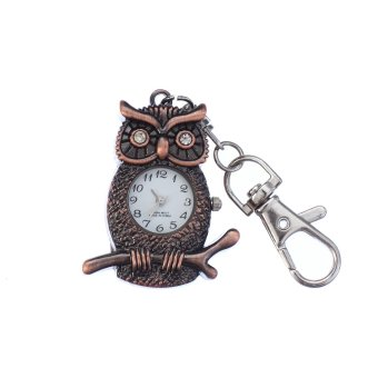 32GB USB 2.0 Novelty metal owl pocket Flash Memory Pen drives Copper color(INTL)