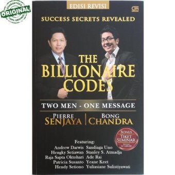 Pierre Senjaya & Bong Chandra - The Billionaire Codes (Edisi Revisi)