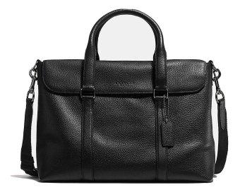 Coach Business Bag Metropolitan Messenger - Black