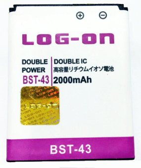 Log On Battery For Sony BST-43 for Sony Ericsson Cedar / Elm / Hazel / Mix Walkman / TXT / TXT Pro / Yari terpercaya