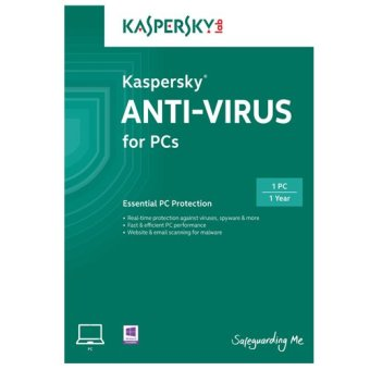 Kaspersky Anti Virus 1 User for 1 Year