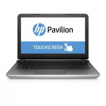 HP Pavilion Notebook - 14-ab132tx (Touch) - Silver