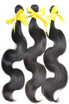Glamorous 20''3 Bundle Brazilian Body Wave Hair Wig - Intl