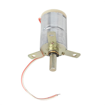 harga 12V Voltage DC 25 RPM Gear-Box Electric Motor (Silver+Gold) Lazada.co.id