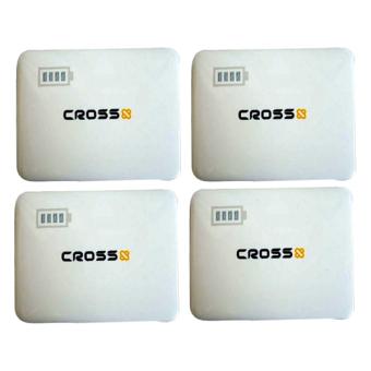Jual Cross Power Bank 5800 mAh 2 USB - Putih - 4 Pcs Harga Termurah Rp 1200000. Beli Sekarang dan Dapatkan Diskonnya.
