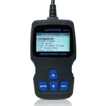 OBDMATE OM123 OBDII Car Diagnostic Code Scanner - Black- Intl