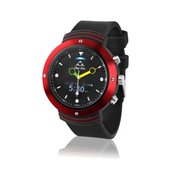 Bluetooth 4.0 Smart Watch Sport Pedometer for Android and IOS Phone (Red) (Intl)