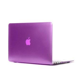 Laptop Cover Case For MacBook Pro 13.3 Inch Metal Color Hard Case Apple Laptop(Purple) - Intl