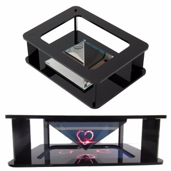 harga DIY Turn your Smartphone Mobile Phone into a 3D Hologram Holographic Projector Lazada.co.id