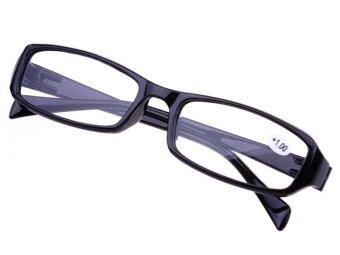 Velishy +2.50 LED Reading Multi Eyeglasses Black - Intl