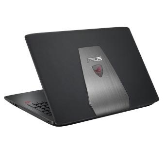 Jual Asus ROG GL752VW - RAM 16GB - Intel Corei7-6700HQ - HDD 1TB + 128SSD- GTX960 4GB - 17.3 FHD - Win10 - Hitam
