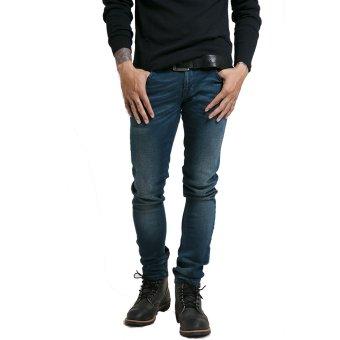 Nudie Jeans Tight Long John Dusty Twill Biru