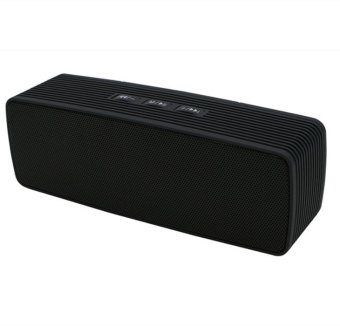 Portable Sports Wireless Stereo Bluetooth Speaker Outdoor Boombox For iPhone LG Smartphone Black (Intl)