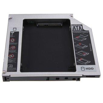 12.7mm Universal PATA IDE To SATA 2nd SATA HDD Hard Drive Disk Bay Caddy+Screws - Intl