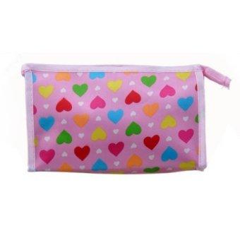 Women Retro Bag Cloth Purse Wallet Card Key Coin Cosmetic Bag Pouch Case - INTL