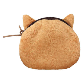 2014 Latest Eye-catching Lady Child Coins Money Bag Super cute Cat money Bag Elec-Mall Brown (Garfield) (Intl)