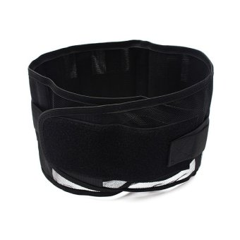 Autoleader Double Pull Breathable Lumbar Lower Back Pain Support Belt Brace Protector US XL (Intl)