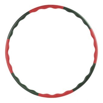 Blz Adult Removable Soft Hula Hoop 80 CM - Hitam/Merah