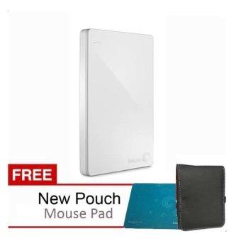 Jual Seagate Backup Plus Slim 2TB - Putih + Gratis Pouch + Mouse Pad Harga Termurah Rp 1999900. Beli Sekarang dan Dapatkan Diskonnya.