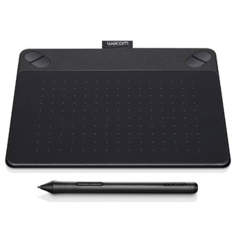 Wacom Pen & Touch Tablet -Small - Intuos Photo - CTH-490/K2-C - Black