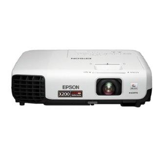 Epson - LED Proyektor EB-X200 - Putih