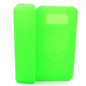 Snow Wolf Box Mod Silicone Protector Case Non-Slip Cover Skin Adornment Better Touch (Green) (Intl)