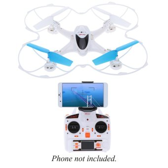 harga Original MJX X300C 2.4G 6-Axis Gyro wifi FPV Real-time RC Quadcopter with Built-in 0.3MP Camera Headless mode/One-key landing/Throttle limit mode/3D flip and roll Lazada.co.id