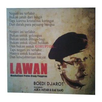 Shine Record CD Album Boedi Djarot - Lawan