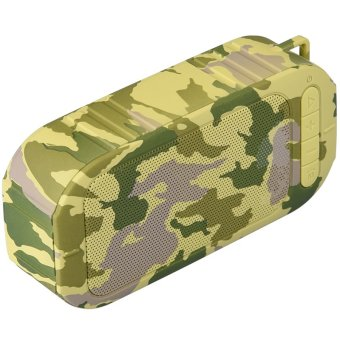 Ultimate Super Bass Camouflage Wireless Bluetooth V3.0 Surround Speaker for iPhone Smartphones (Intl)