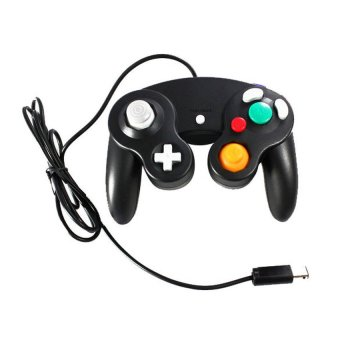 S & F New Game Controller for Nintendo Gamecube GC WII (Black) - Intl
