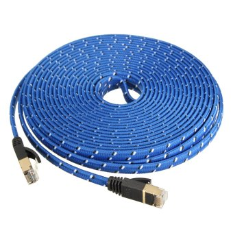 10M Durable Strong CAT-7 CAT7 RJ45 10Gbps Ethernet Flat Cable LAN Network Cord - Intl
