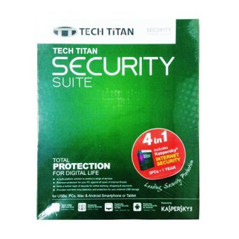 Kaspersky Tech Titan Security Suite 2016 Internet Security 3 User