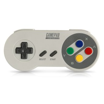 SNES30 Wireless Bluetooth Controller Gamepad for iPhone Android Smartphone IOS - Intl