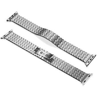 Armor Steel Watchband Series for Apple Watch 38mm - Intl