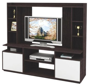 harga Expo Wall Unit / Rak TV 8214 Walnut Lazada.co.id