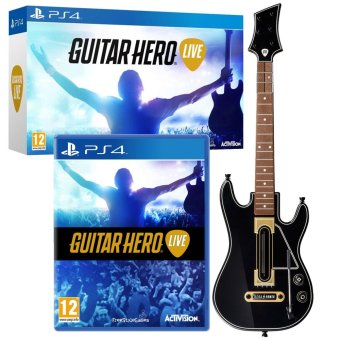 Sony PS4 Guitar Hero Live + Guitar Controller