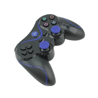 Wireless Controller for PS3 PlayStation dual shock Black (Intl)