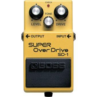 Boss Super OverDrive SD-1 Guitar Effector for Fander Gibson Martin Taylor Elephone