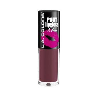 LA Colors Pout Matte Lipgloss - Canoodle