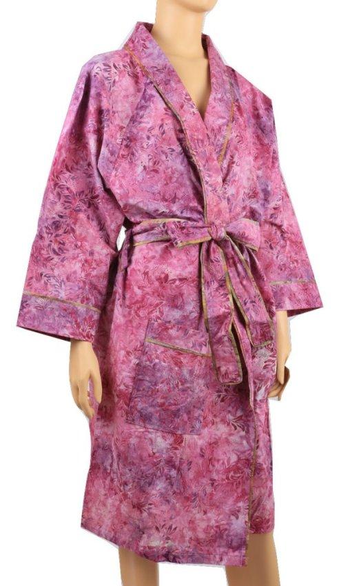 harga Prettyethnics-Kimono Batik - Purple Color Lazada.co.id