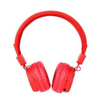 BeeWi Wireless Stereo Headphones Ground Bee Me - Merah